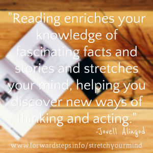 Stretch Your Mind quotation image