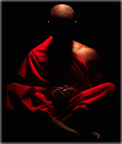 Ultimate Guide to Meditation - Meditating Monk Image 250x259px