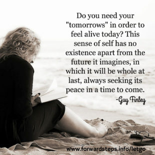 Let Go And Know Peace quote image 1