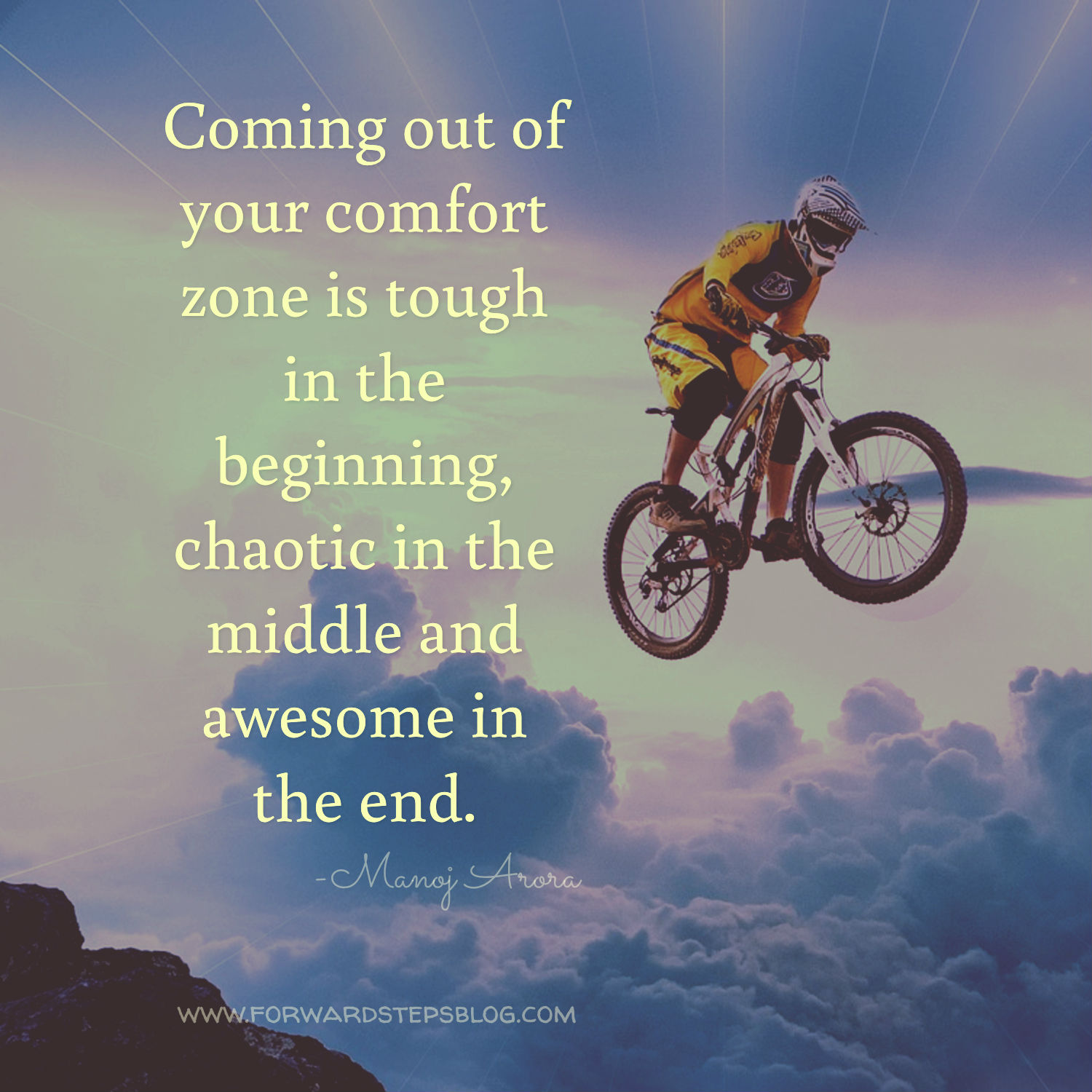 Comfort Zone - Forward Steps image_1