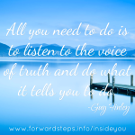Voice Of Truth Quote